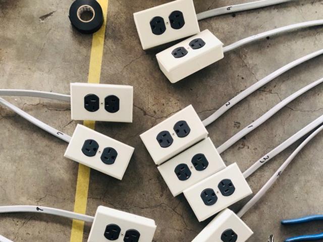 専用回路敷設