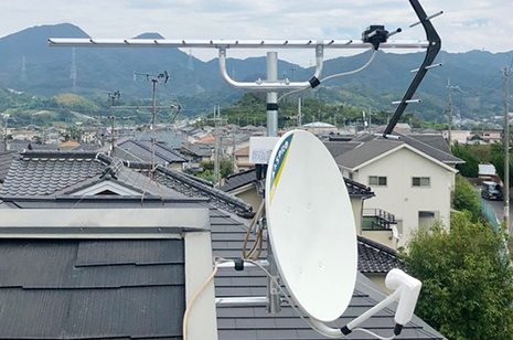 TVアンテナ修理