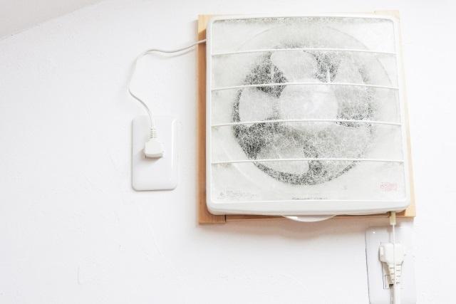 使用頻度や使用環境で変わる換気扇の寿命